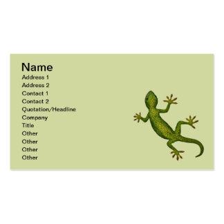 Gecko Business Card Templates