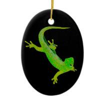 Gecko Ceramic Ornament