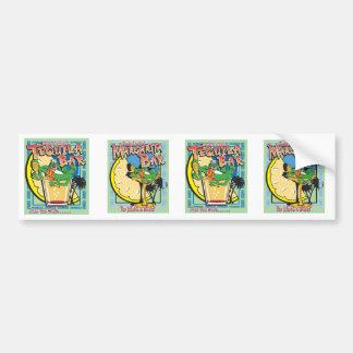 Gecko Charlies Margarita Bar Bumper Sticker