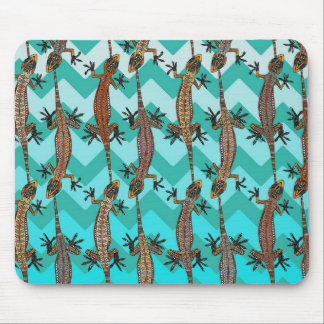 gecko chevron mouse pads