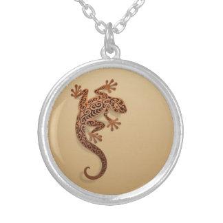 Gecko de Brown que sube Colgante Personalizado