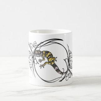 Gecko de las gemas taza de café