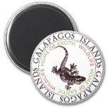 Gecko de las islas de las Islas Galápagos Imán Para Frigorifico