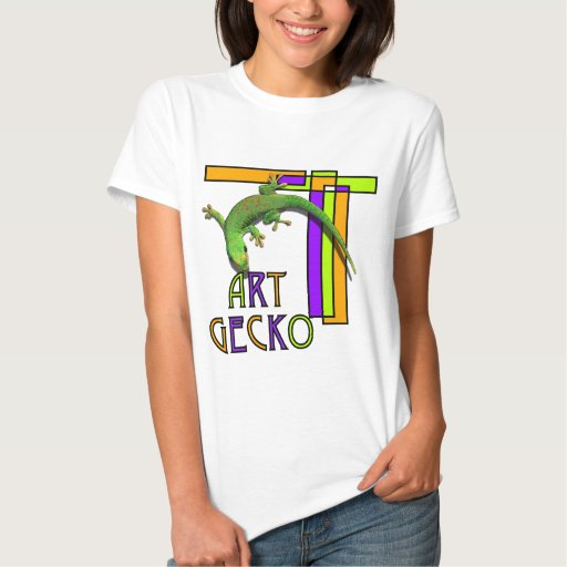 gecko del arte playeras