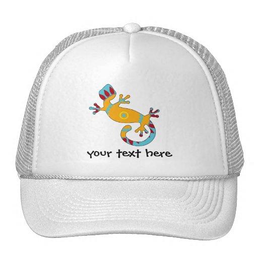 gecko del estallido tribal gorro de camionero