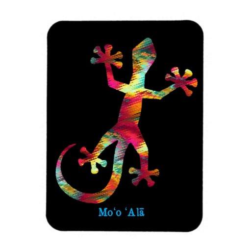 Gecko del Hawaiian del arco iris Iman