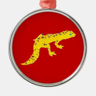 Gecko del leopardo ornamento para reyes magos