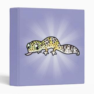 "Gecko del leopardo del dibujo animado carpeta 1"""