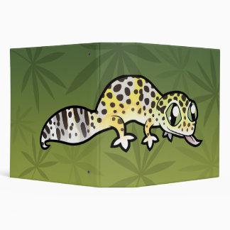 "Gecko del leopardo del dibujo animado carpeta 2"""