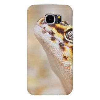 Gecko del leopardo funda samsung galaxy s6