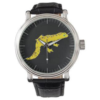 Gecko del leopardo relojes de mano