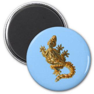 Gecko del vuelo de Kuhl Imán Redondo 5 Cm