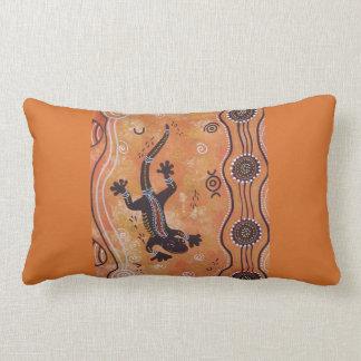 Gecko Dreaming Autumn Range Pillow Cushion