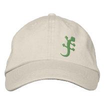 Gecko Embroidered Baseball Cap