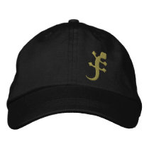 Gecko Embroidered Baseball Hat