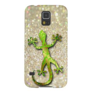 Gecko en la caja de la galaxia S5 de Samsung del b Carcasas Para Galaxy S5
