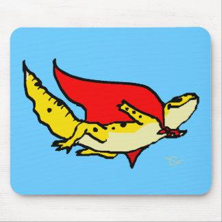 Gecko estupendo mouse pad