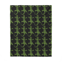 Gecko Fleece Blanket