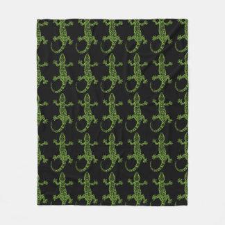 Gecko Fleece Blanket