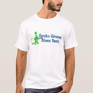 Gecko Groove Blues Band Guitar Player Tshirt