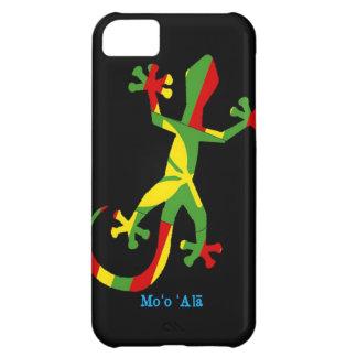Gecko hawaiano de la bandera funda para iPhone 5C