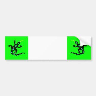 Gecko in Green2 Bumper Sticker