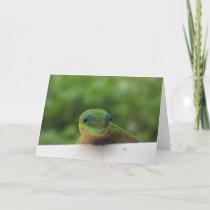 Gecko in the Tropics notecard