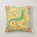 Gecko inalámbrico, prueba de la opinión de color,  almohada
