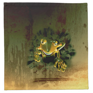 Gecko lindo servilleta