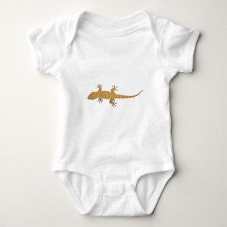 gecko lizard baby bodysuit