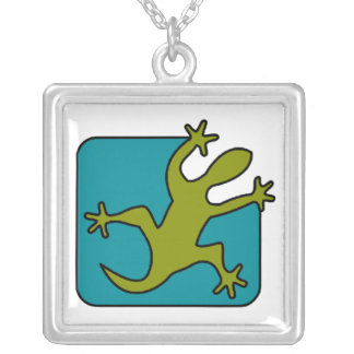 Gecko / Lizard necklace