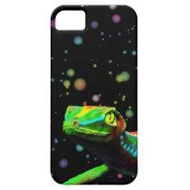 Gecko Lizard Rainbow Colors iPhone 5 Cases