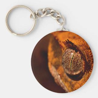 Gecko Llavero Redondo Tipo Pin