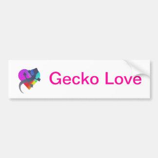 Gecko Love Bumper Sticker