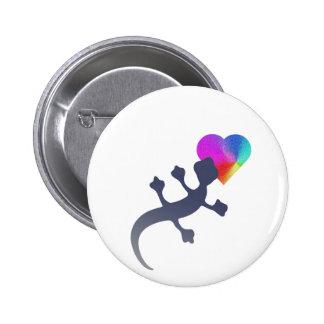 Gecko Love Pinback Buttons