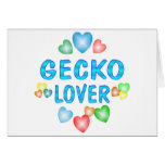 GECKO LOVER GREETING CARD