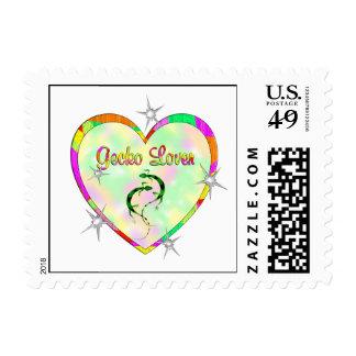Gecko Lover Postage Stamp