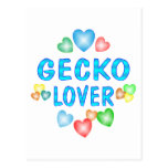 GECKO LOVER POSTCARD