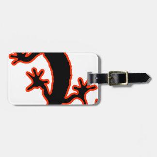 Gecko Luggage Tag