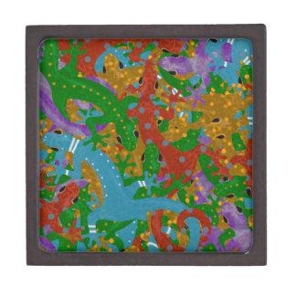 Gecko Mania Jewelry Box