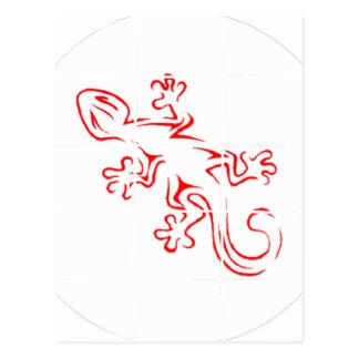 Gecko Mania Postcard