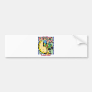 Gecko-margarita-LIMEDESIGN Bumper Sticker