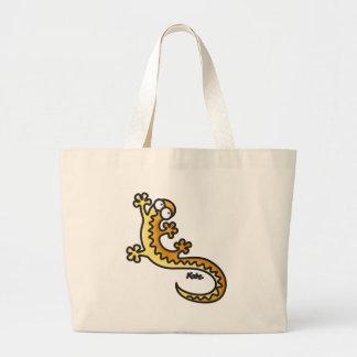 Gecko - Salamander Large Tote Bag