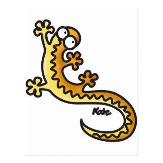 Gecko - Salamander Post Card
