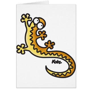Gecko - Salamander Felicitación
