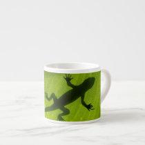 Gecko Silhouette Espresso Cup