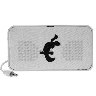 Gecko Silhouette Mini Speakers