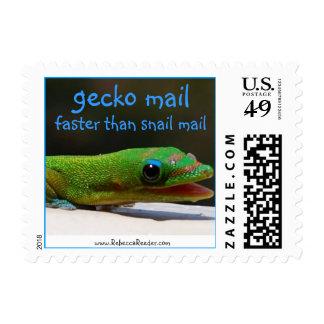 Gecko Snail Mail Postage