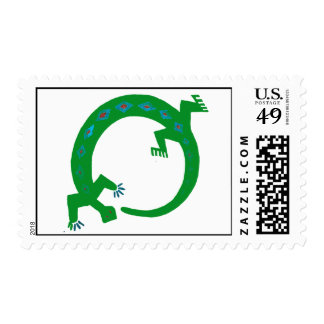 Gecko stamps