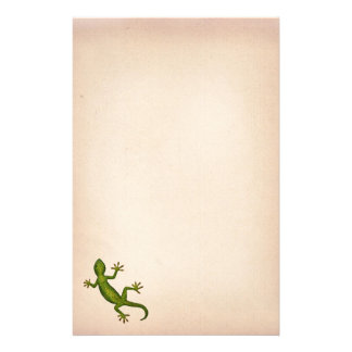 Gecko Stationery